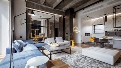 三间小公寓拼凑而成的136平大宅,时髦得不像话