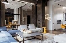 三间小公寓拼凑而成的136平大宅,时髦得不像话图_1