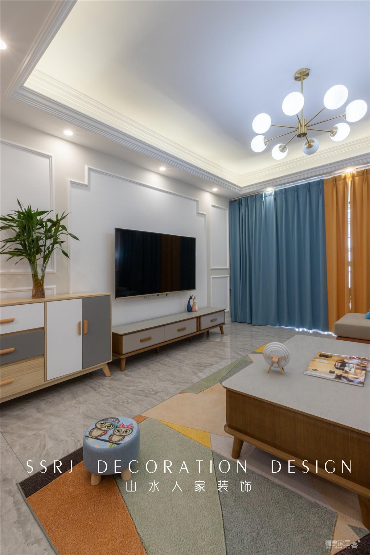 【花山美庐】130平三室两厅北欧