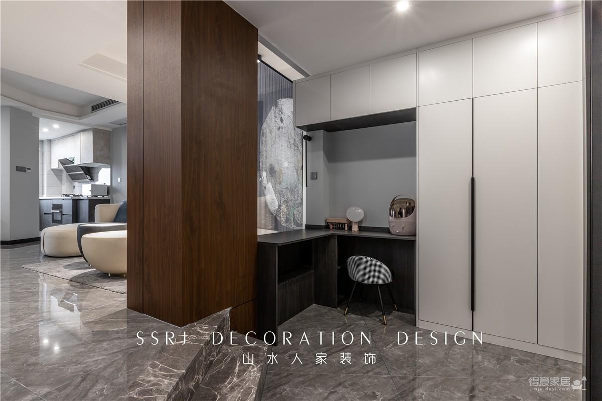 【滨江苑】98平三室两厅现代风图_2