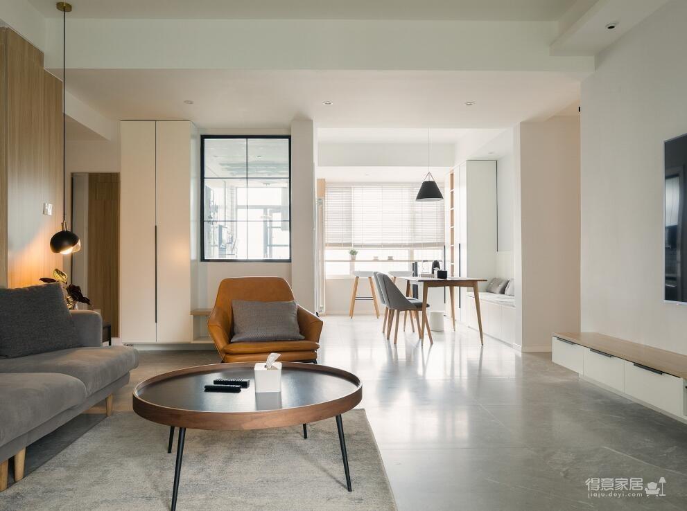 【东湖城】130平三室两厅现代原木风