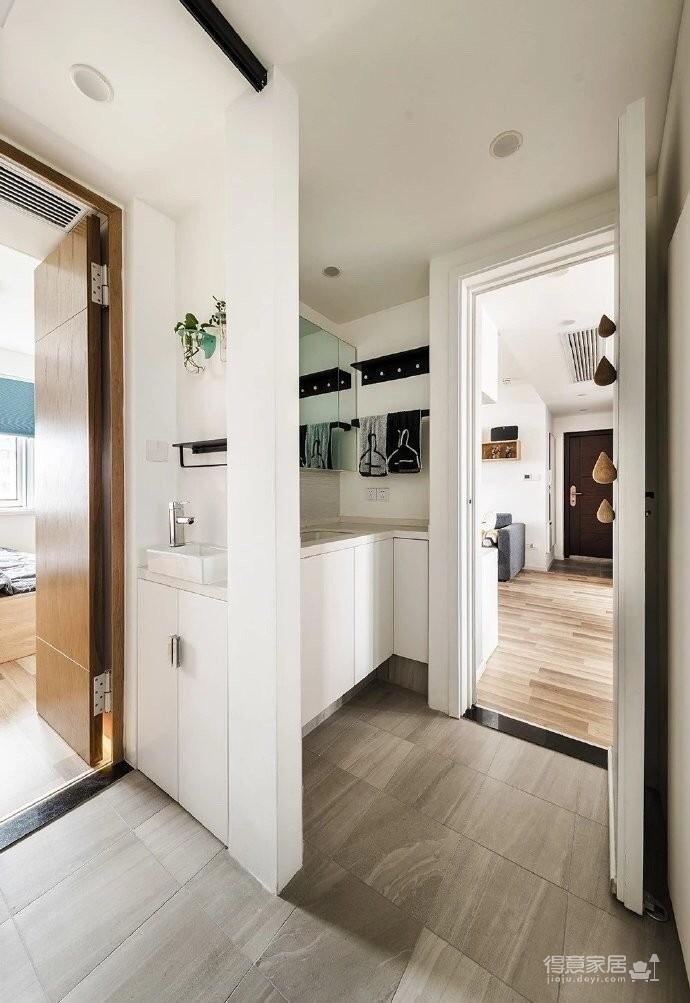 70平两室收纳空间多一倍
