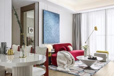 92㎡现代三居,舒适度与设计美感并存