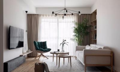 131㎡日式MUJI风3室2厅,安静纯粹演绎舒适品位