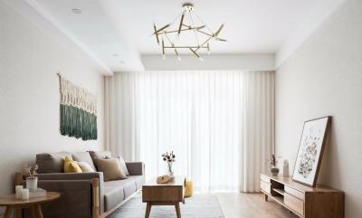 102㎡北欧+日式3室2厅,营造温暖舒适的生活格调