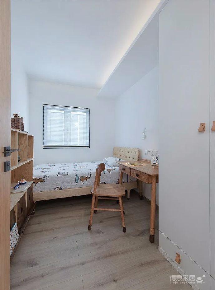"""84㎡精装房改造,通过""""轻装修、重装饰"""",打造了满满治愈的日系风格家,自然而清新"""