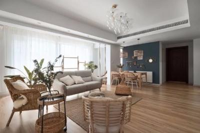 149m²清新自然家,这里有着一家人期许的模样,也藏着屋主的小性格,温婉,浪漫,清新,悠闲