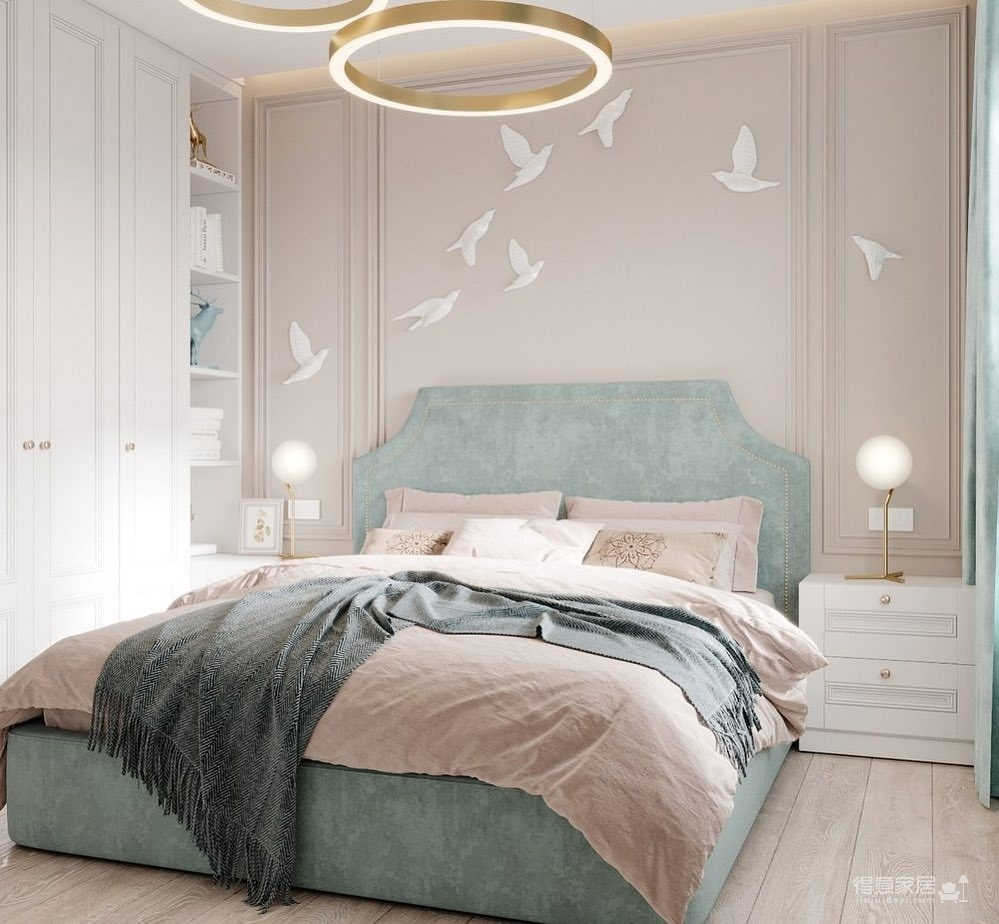 36㎡单身公寓   蓝色的唯美与浪漫图_6