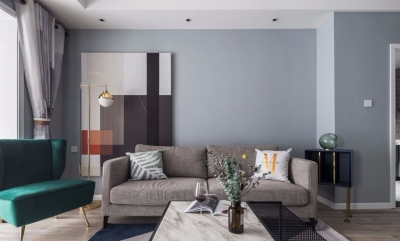 舒适北欧2室2厅,卡座餐厅颜值与实力并存!