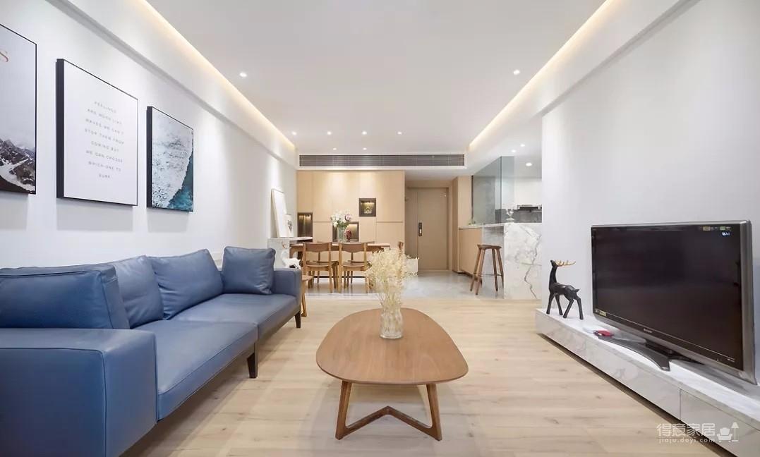 现代简约3室2厅,榻榻米书房颜值与实力并存!