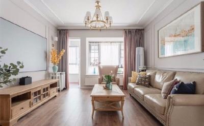 改造设计师根据业主一家人的需求与审美,通过功能优化,巧用色彩搭配,让旧房破茧成蝶,成为舒适好住的轻美式新家