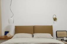 木白为主,暖橙点缀,灰色打底,整体空间给人静谧温馨的感觉图_3