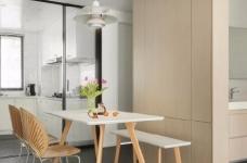 木白为主,暖橙点缀,灰色打底,整体空间给人静谧温馨的感觉图_5