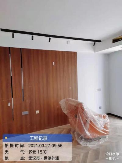 【世贸锦绣长江】安装收尾工地巡检