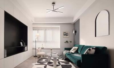 106㎡现代复古3室2厅,高级又时髦的气质美居
