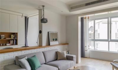 96㎡舒适北欧2室2厅,简约实用又有格调的家