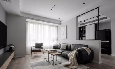 80㎡优雅宁静、自然舒适的小家,书房打开,次卧改成衣帽间,太懂生活了!
