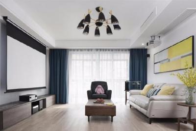 """170平米四室两厅两卫现代简约,当得起""""素雅""""二字"""