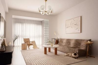 这是我见过最耐看的家,108㎡新房温柔优雅,住上三代人都不过时!