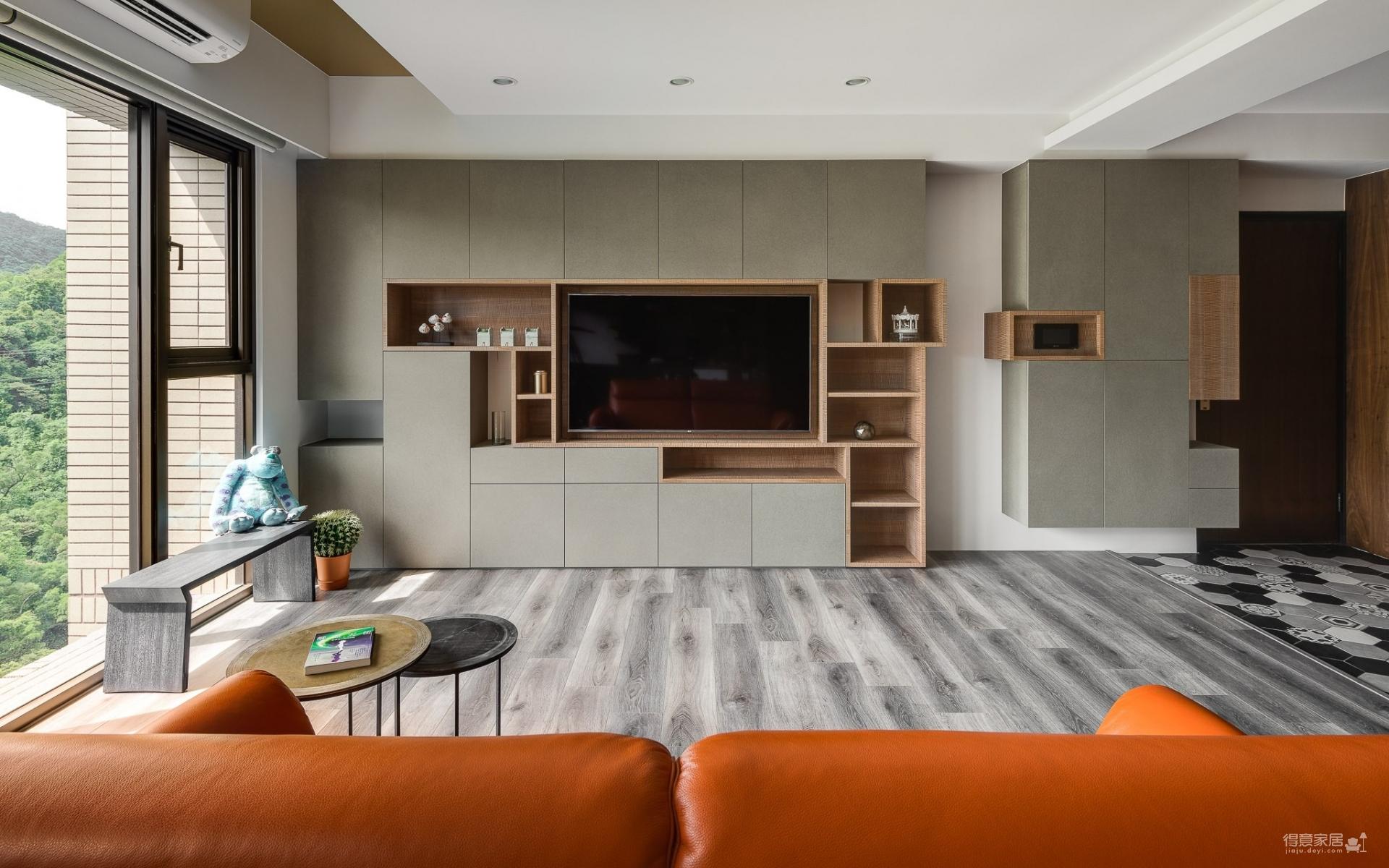 60平一室一厅舒适家宅图_4