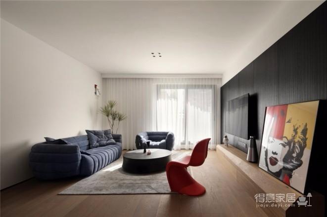 131㎡私宅设计,时尚简约,高级范!图_1