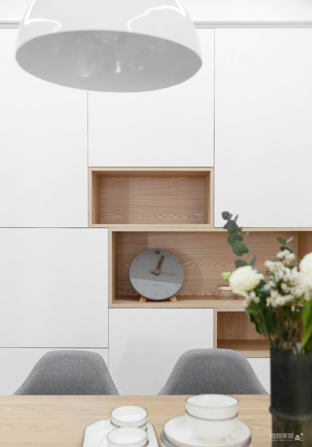 清新日式3室2厅,温柔而治愈的气质美居