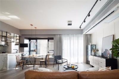 充分利用好每一寸空间,开放式的设计,让空间最大化,不管是从视觉上来看,都会是舒适的空间