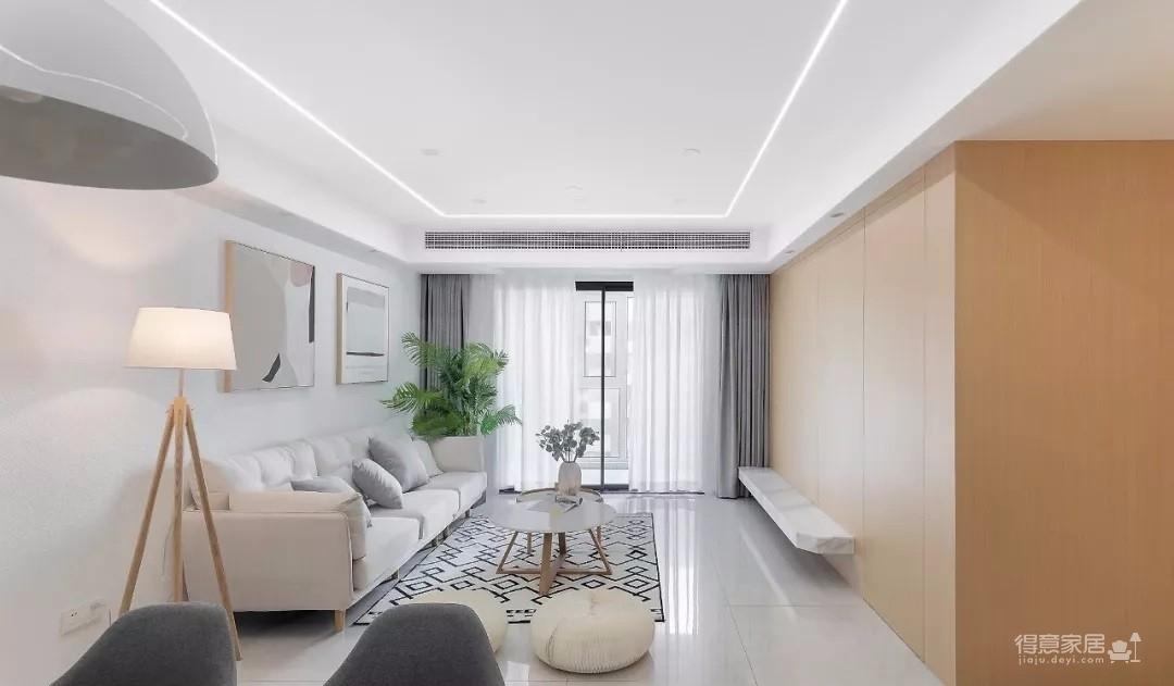 清新日式3室2厅,温柔而治愈的气质美居图_1