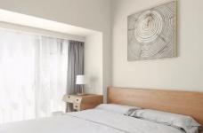 89㎡日式风三居室装修,原木收纳柜+薄荷绿配色,从玄关美到卧室!图_3