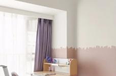 89㎡日式风三居室装修,原木收纳柜+薄荷绿配色,从玄关美到卧室!图_9