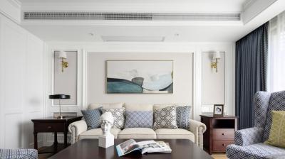 气质美式3室2厅,演绎知性优雅的生活格调