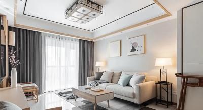 温润新中式3室2厅,纷繁都市中的诗意栖居