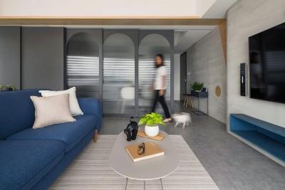 50平北欧宠物宅寓子设计