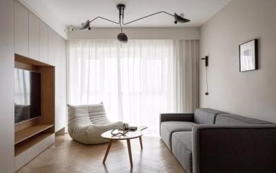 90㎡极简之家,打造大容量收纳空间