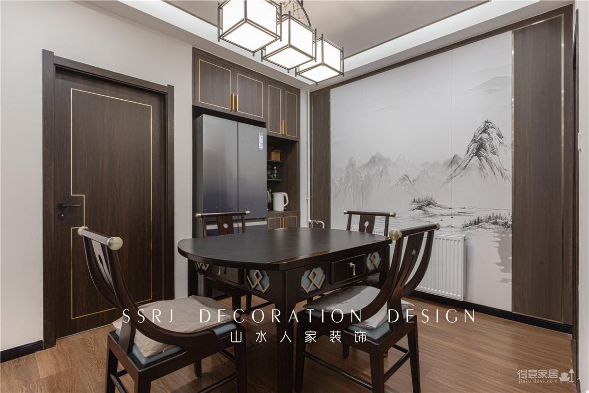 【北环路社区】140平三室两厅新中式