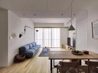 日式风二居室,在极简的基础上,加入温馨质感!
