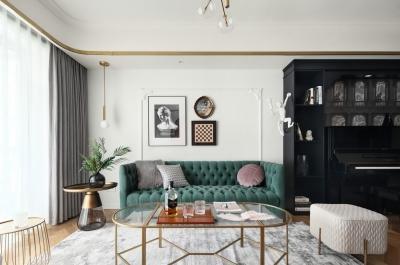 108平两室两厅现代轻奢风