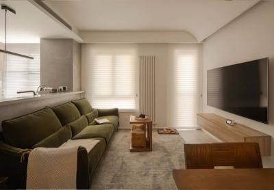 87㎡两居室,LDK布局、步入式衣帽间、超大书房…现代与古典的完美结合!