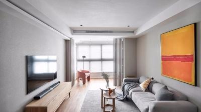 89㎡舒适北欧3室2厅,打造温暖惬意的生活感