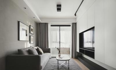 现代主义3室2厅,生活就是简单随性