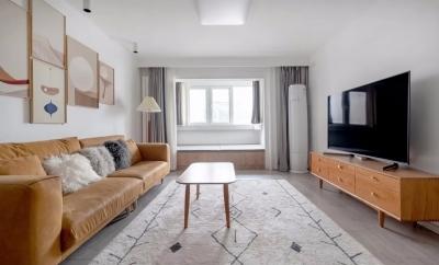 用自然温暖色调打造90后夫妻的80㎡美丽新居,好看好住,舒适满分~