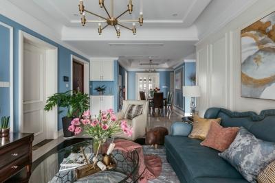130平三室两厅现代美式