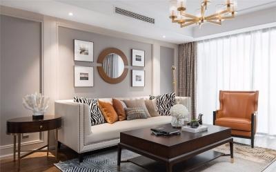 153㎡轻奢美式4室2厅,高级有品味的质感生活