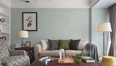 132㎡浪漫美式3室2厅,造就撩人心底的优雅生活