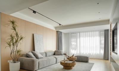 167㎡现代简约4室2厅,温暖和煦演绎优雅品位