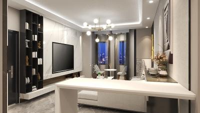 浩海公寓112平-现代风格