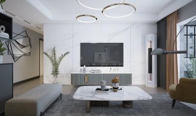110平现代简约,增添了家庭氛围和生活气息