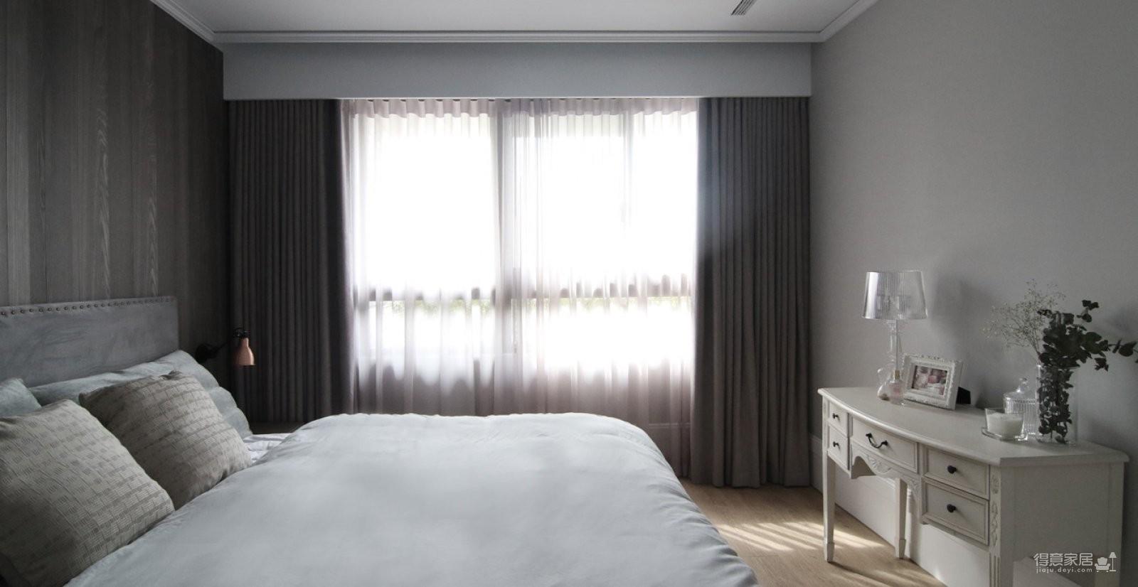 130平高级灰现代住宅