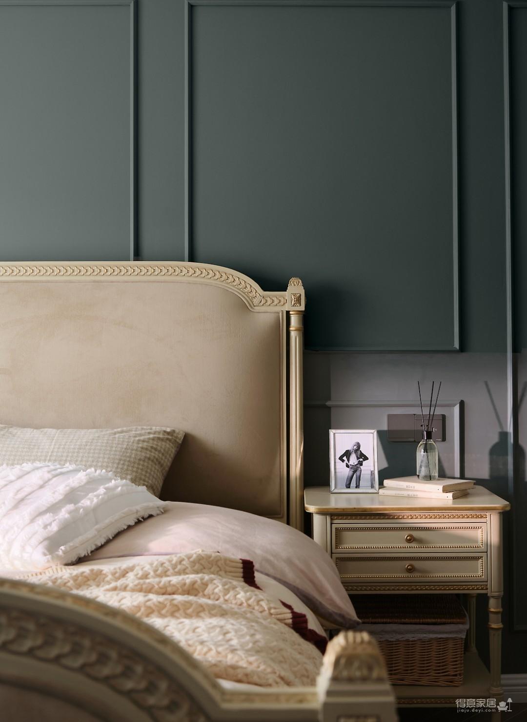 90㎡优雅法式3室2厅,高颜值拼色墙时髦有腔调!