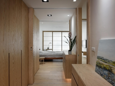 60平一室一厅日式风住宅